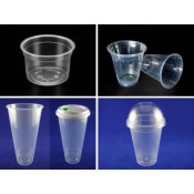 3). PP Cup, Lid, Plug and Sleeve