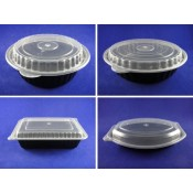 2). PP I Series Microwavable Container and Lid