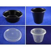 4). PP Round Deli Container and Lid