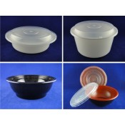 5). PP Round Container and Lid