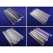 3). Recyclable PP Plastic Straws