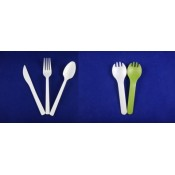 1. PLA Biodegradable Cutlery