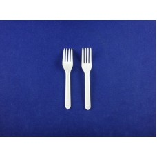 CPLA 100MM-F Biodegradable/Compostable Cutlery