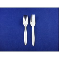 CPLA 160MM-F Biodegradable/Compostable Cutlery